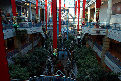 Christmas Spirit in Portage Place