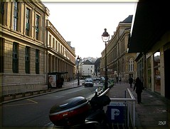 Rue de l'Ecole de Mdecine, Paris (Zinaida Beaumont (lot of work at the office)) Tags: paris jussieu rl quartierlatin ruedelecoledemdecine cordeliers parisvi scolarit travelsofhomerodyssey escalierg