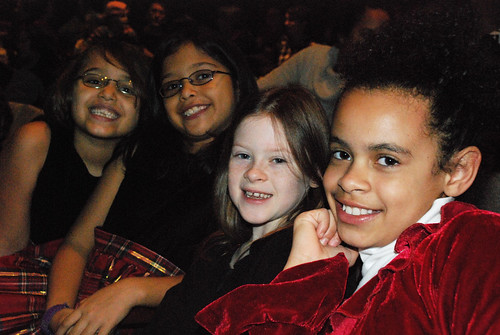 Friends At the Nutcracker Ballet