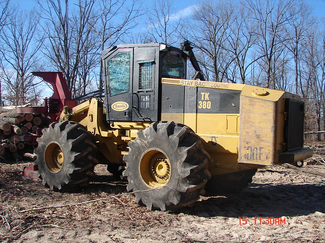 2003 Timberking 380 Feller Buncher with HF221 Sawhead by Jesse Sewell