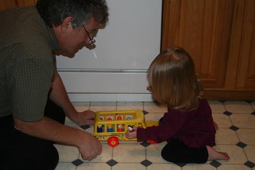 playtime with Grandpa