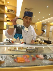 Flat Everett meets a sushi Chef