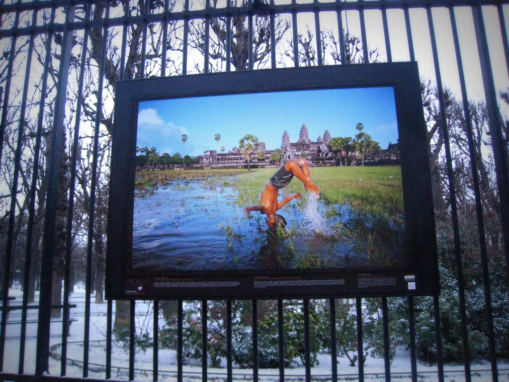 Expo photos sur le Mekong