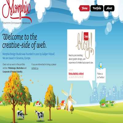 Morphix web design