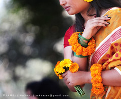 ... (Kamrul - Hasan) Tags: flowers face yellow lady spring valentine lips cliped