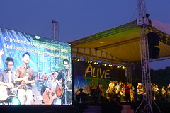 Full Gospel Assembly Easter Stage and Screen
