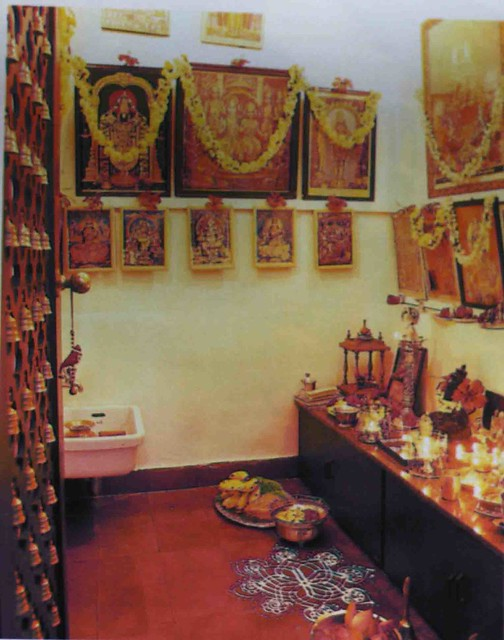 An Indian Decor Blog: Room For The Gods