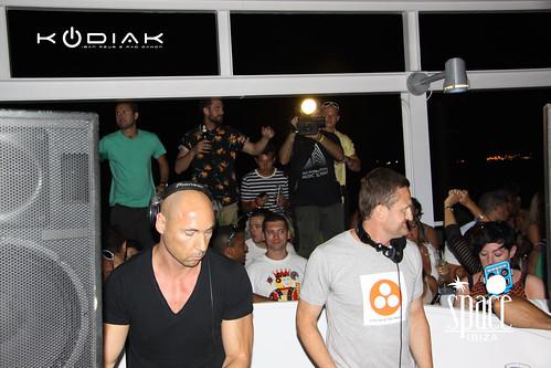 Kodiak: Dj Iban Reus & Rad Damon @Space Ibiza Opening.