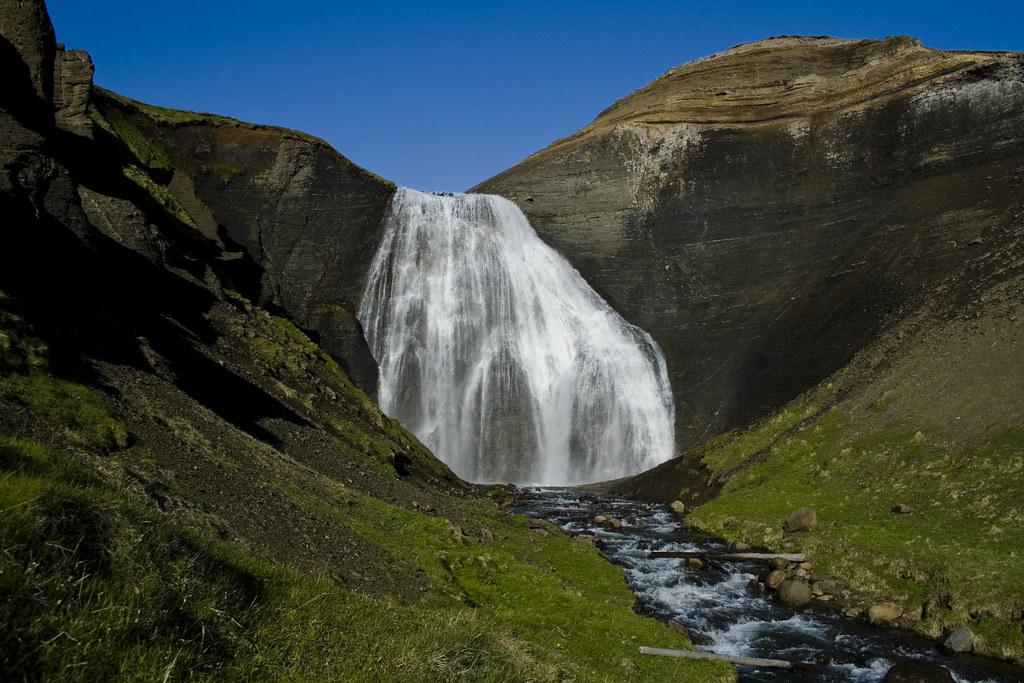 Skeiðárfoss in Tjörnnes (Húsavík)