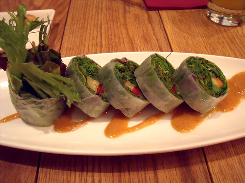 Salad rolls at Chef's V