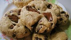 Vegan Gluten-Free Chocolate Chunk Cookies