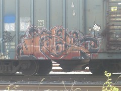 Cable (Masta Blasta0420) Tags: art up graffiti paint trains boxcars goldenwest kcs rbox ibt cnw spraypaing