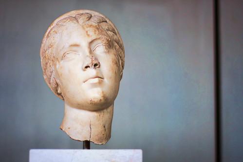 archaic acropolis - busts - 3