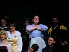 Lauren as Cinderella in the Act II finale
