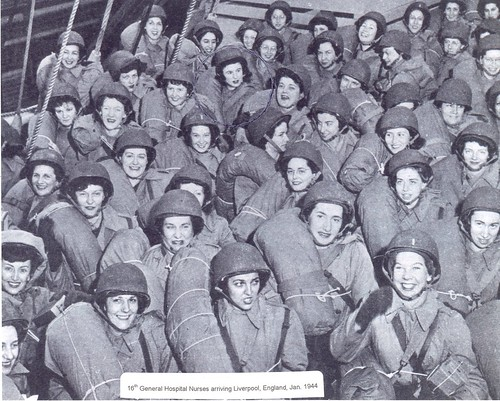 16th General Hosp Nurses, Jan 1944