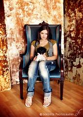 Photo Op. (Emily Sandifer) Tags: dog selfportrait me female studio 365 doggie project365 365days sandifer