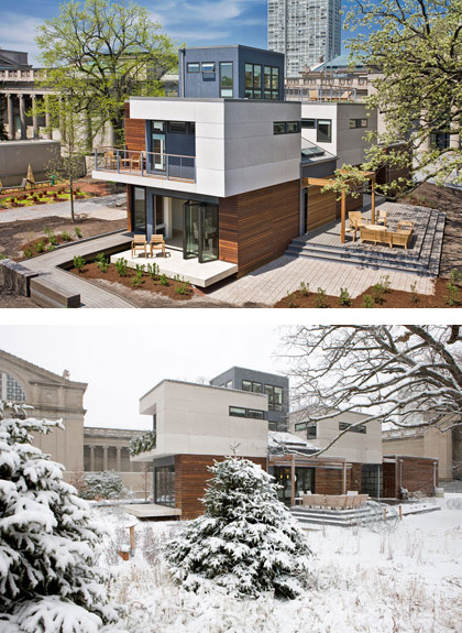 04 MKSolaire Eco Friendly House - Summer and Winter House