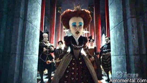 Trailer Alicia en el País de las Maravillas Reina Roja