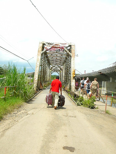 The rickety bridge