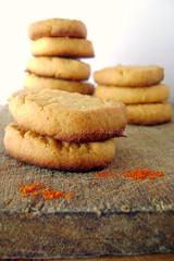 Biscotti al parmigiano e pimenton dulce