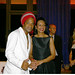Carlinhos Brown e Condoleezza Rice