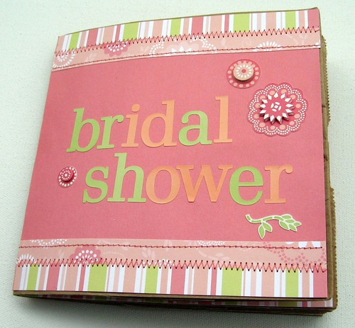 """Bridal Shower"" Paper Bag Album"