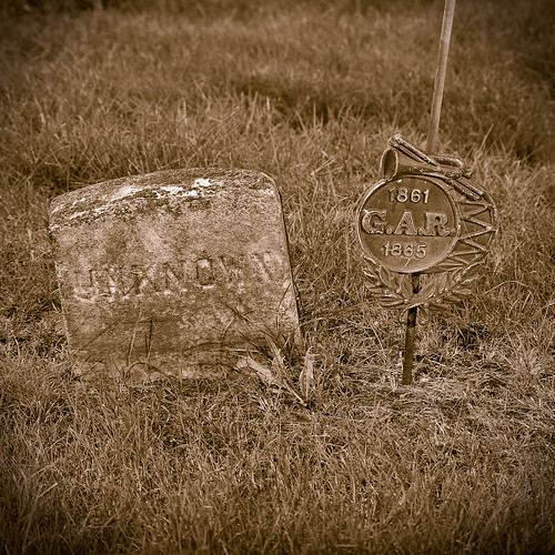 Quincy Civil War Unknown Soldier marker
