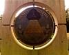 090811OKCMemorial22 (bradzone) Tags: city sculpture eye oklahoma memorial all pyramid great seal freemasonry seeing reverse illuminati freemasons novus ordo seclorum annuit coeptis