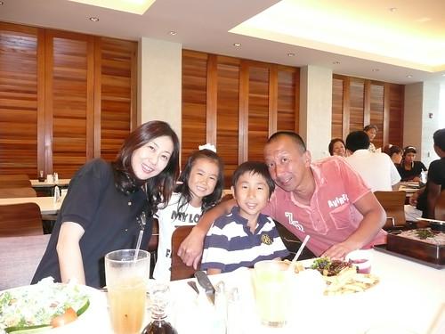 Family @ restaurant