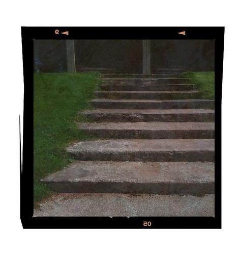 Pavilion's steps