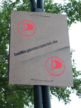 Wahlkampf 09 - Piratenpartei