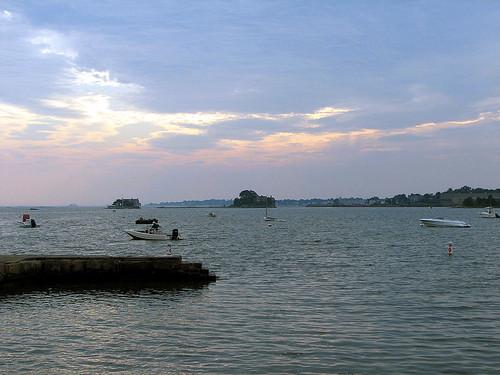 Thiimble Island sunset
