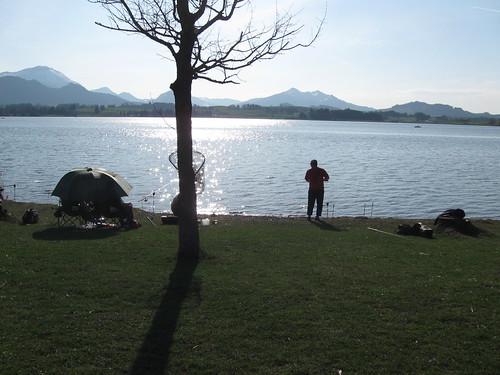 Angler am Hopfensee