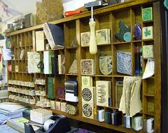 Letterpress Tray (Wychbury Designs) Tags: uk loft vintage antique craft storage workspace letterpress rubberstamps typecase wychbury