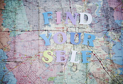 find yourself (rockie nolan) Tags: colors canon photography 50mm map 5d conceptual yourself find rockienolan