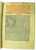 Woodcut and ownership inscription in Publicius, Jacobus: Ars oratoria, ars epistolandi et ars memorativa