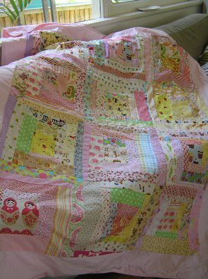 girly quilt
