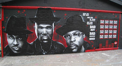 Run DMC (farkfk) Tags: graffiti stencil montana paint day top fark saturday clash adventures jano fk verge rundmc vst farkfk nfe trans1