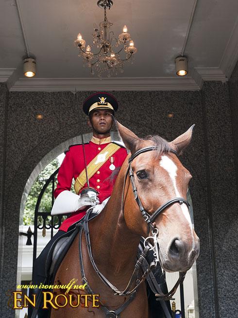 Istana Negara Mounted Guard