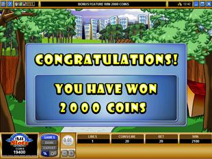 free K9 Capers gamble bonus game