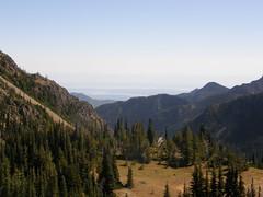 Views from lunch spot near Marmot Pass.
