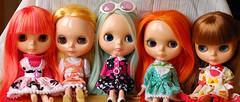 My custom girls~ Who is your fav girl?