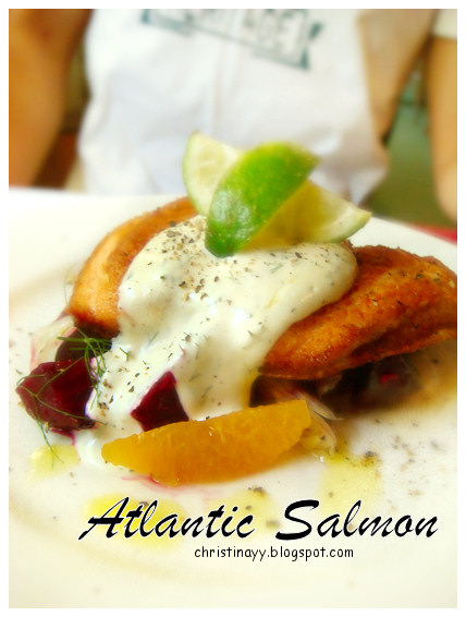 Angelo's House Restaurant Toowoomba: Atlantic Salmon