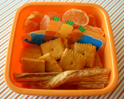Kindergarten Snack Box: A Study in Orange
