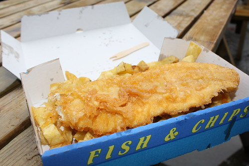 Food in Scotland - Fish & Chips in Portree