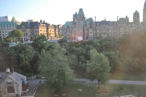 Vistas del Parlamento desde la habitación Fairmont View King
