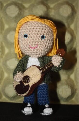 Amigurumi Kurt Cobain