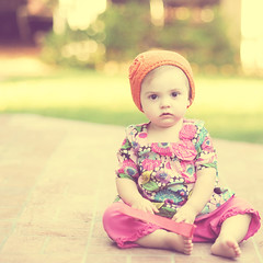 H O N E Y (Shana Rae {Florabella Collection}) Tags: pink portrait orange baby girl vintage nikon child action 85mm naturallight milkhoney d700 shanarae florabellacollection