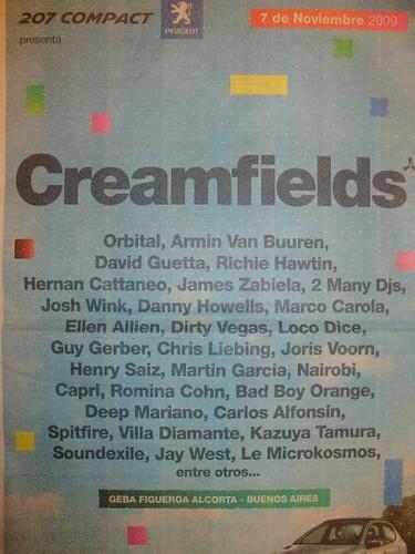 creamfields en el periodico