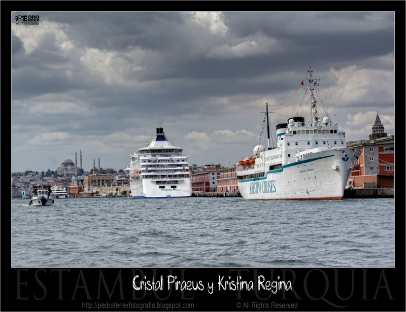 Cristal Piraeus y Kristina Regina - Cruceros de recreo - Estambul